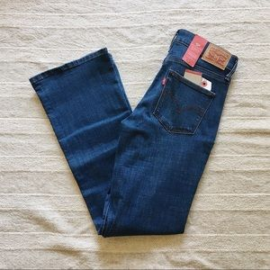 NWT Levi's Slimming Bootcut Jeans